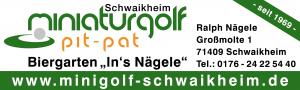 Logo - Miniaturgolf Schwaikheim